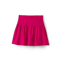 Lands' End - Girls' pink cotton skort