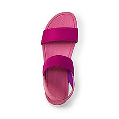 Lands' End - Pink regular alpargata sandals