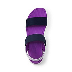 Lands' End - Blue regular alpargata sandals