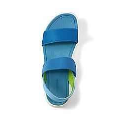 Lands' End - Blue regular alpargata sandals
