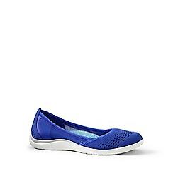 Lands' End - Blue regular slip-on water shoes