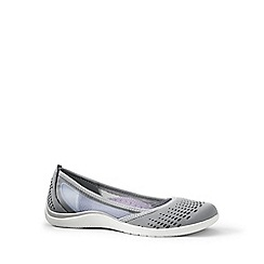Lands' End - Grey regular slip-on water shoes