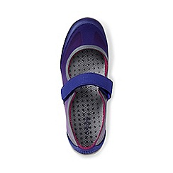 Lands' End - Purple regular Mary Jane water shoes