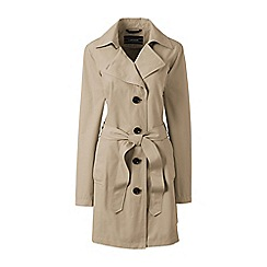 Lands' End - Green plus harbour trench coat