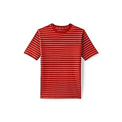 Lands' End - Orange stripe super-t