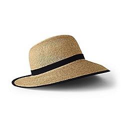 Lands' End - Beige straw sun hat