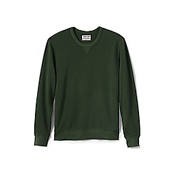 Lands' End - Green jersey sweatshirt