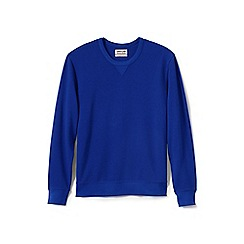 Lands' End - Blue jersey sweatshirt