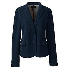 Lands' End - Blue fleece blazer