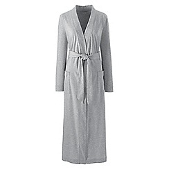 Lands' End - Grey supima dressing gown
