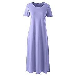 Lands' End - Purple supima short sleeve nightdress