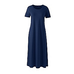 Lands' End - Blue supima short sleeve nightdress