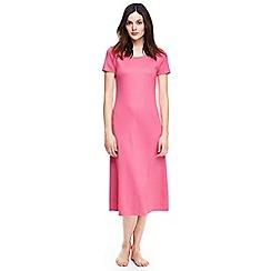 Lands' End - Pink supima short sleeve nightdress