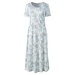 Lands' End - Multi supima patterned short sleeve nightdress