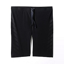 Lands' End - Black sport swimming jammers