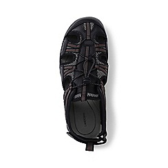 Lands' End - Black regular water sandals