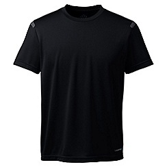 Lands' End - Black sport tech tee