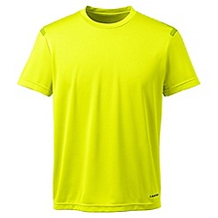 Lands' End - Yellow sport tech tee