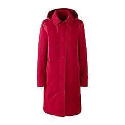 Lands' End - Red petite coastal rain coat