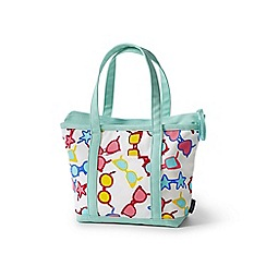 Lands' End - Kids' white canvas tote
