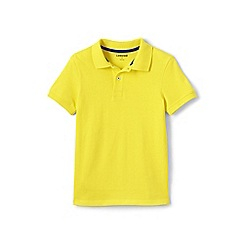 Lands' End - Boys' yellow pique polo