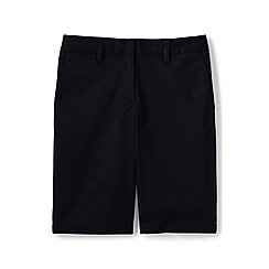 Lands' End - Black regular classic chino shorts