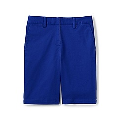 Lands' End - Blue regular classic chino shorts