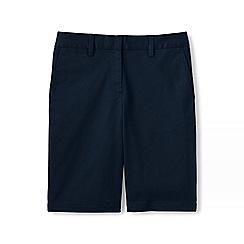 Lands' End - Blue plus classic chino bermuda shorts