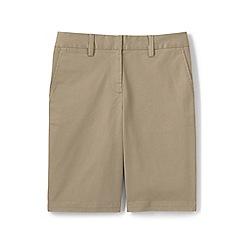 Lands' End - Khaki plus classic chino bermuda shorts