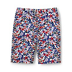 Lands' End - Multi regular print chino shorts