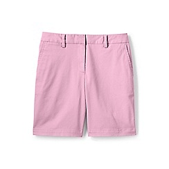 Lands' End - Pink 7' chino shorts