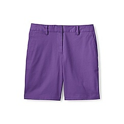 Lands' End - Purple 7' chino shorts