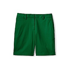 Lands' End - Green 7' chino shorts