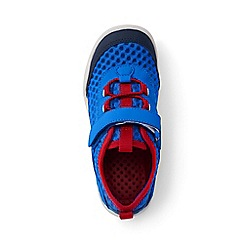 Lands' End - Kids' blue water shoes