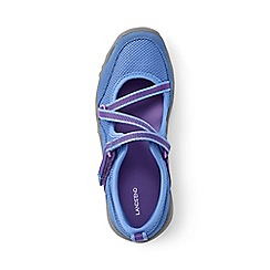 Lands' End - Girls' blue mary jane trekker shoes