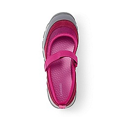 Lands' End - Girls' pink everyday mary jane shoes