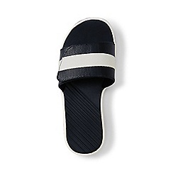 Lands' End - Kids' black action slider sandals