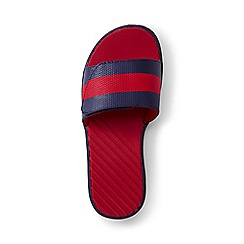 Lands' End - Kids' blue action slider sandals