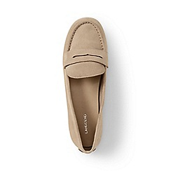 Lands' End - Brown regular casual loafers