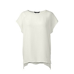 Lands' End - White dolman sleeve top