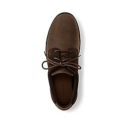Lands' End - Brown regular lightweight comfort oxford lace-up shoes
