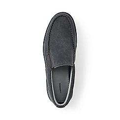 Lands' End - Grey regular lightweight comfort suede slip-on shoes