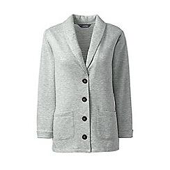 Lands' End - Grey duofold soft blazer