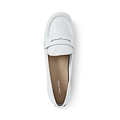 Lands' End - White regular casual loafers