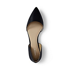 Lands' End - Black regular d'orsay flat shoes