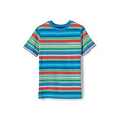 Lands' End - Boys' multicoloured stripe tee