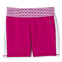 Lands' End - Pink le sport studio cycling shorts