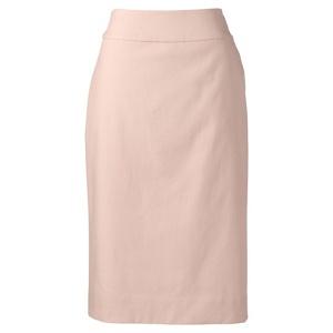 Lands' End Orange regular basket weave stretch pencil skirt