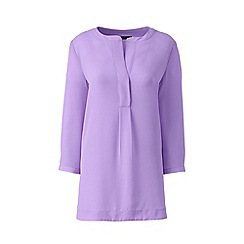 Lands' End - Purple popover tunic blouse