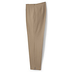 Lands' End - Green regular mid rise bi-stretch capris